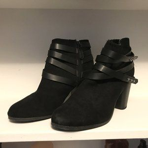 Madden Girl Black Booties